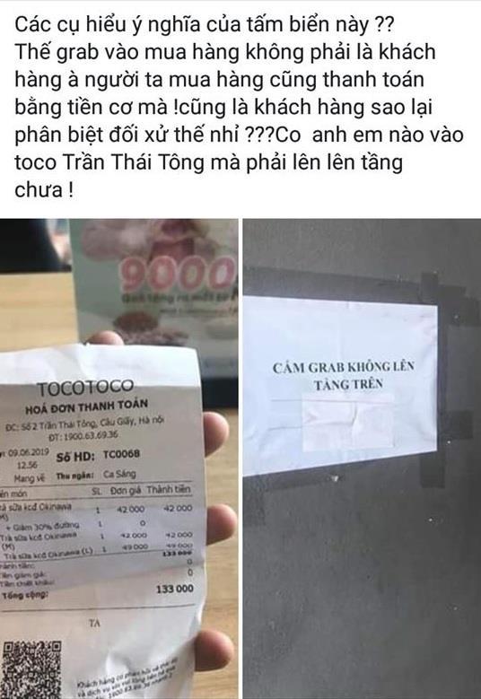 Cong dong mang 'day song' voi thong bao cam tai xe Grab len tang anh 1