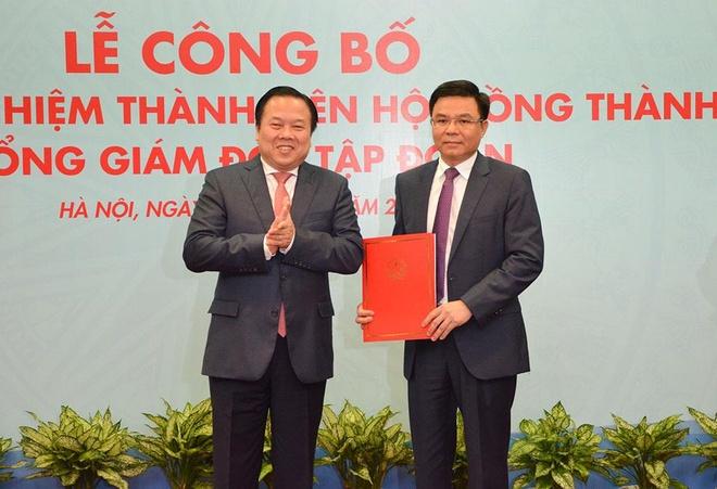 Tập đoàn Dầu khí Việt Nam có tổng giám đốc mới