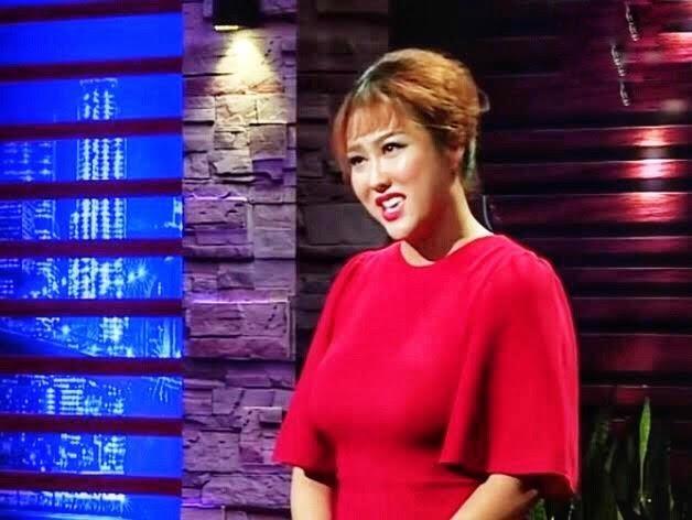 Phi Thanh Van dien dam do khi tham gia Shark Tank Viet Nam hinh anh
