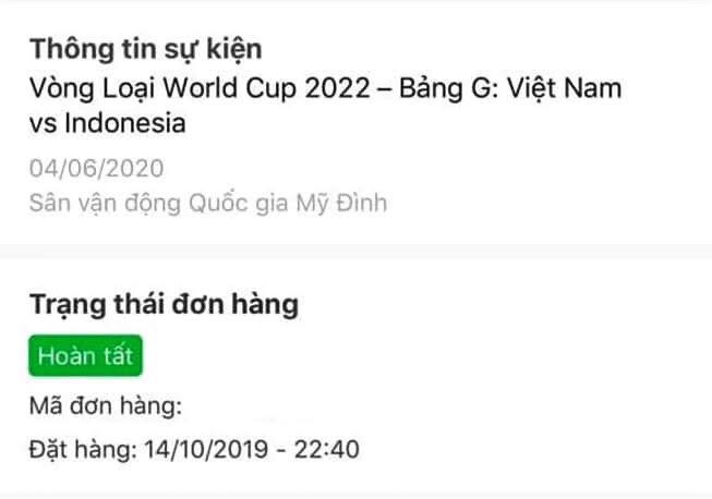 Sau 40 phut van mua duoc ve tran Viet Nam - Indonesia anh 1