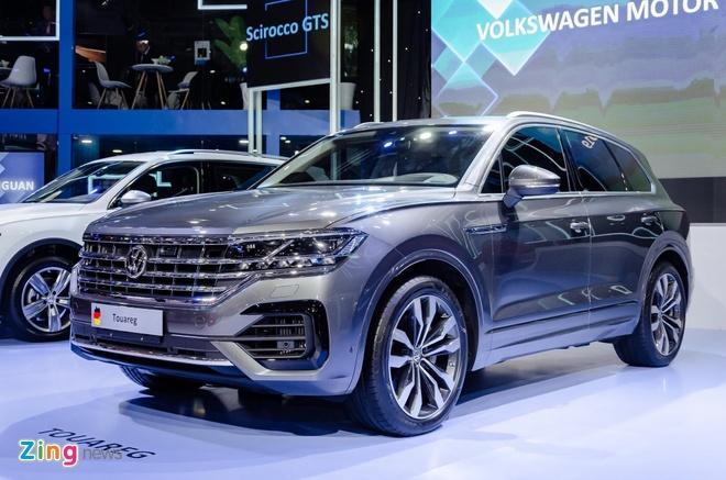 Xe Volkswagen co 'duong luoi bo' dang bi tam giu tai cang Cat Lai hinh anh 1