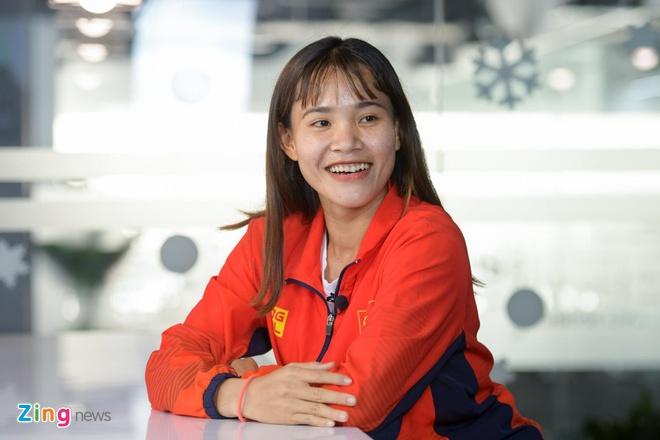 Chuong Thi Kieu nhan du tien thuong SEA Games va da ve que an Tet hinh anh 1 6_zing.jpg