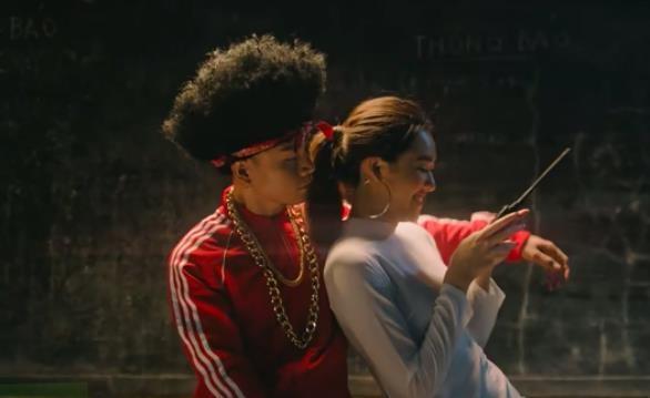 Nu chinh trong MV moi cua Binz tung la hot girl Phan Dinh Phung hinh anh 2
