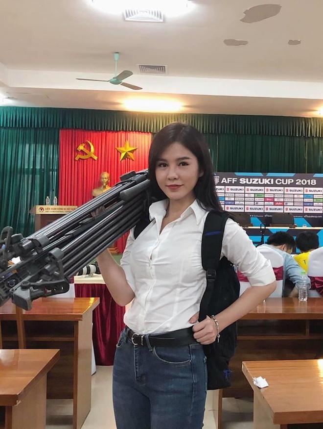 Nhan sac MC Vu Thu Hoai - 'nguoi moi' cua thieu gia Tuan Hai hinh anh 2