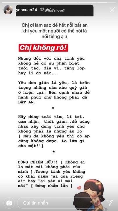 Yen Xuan ke ve tinh cu anh 2