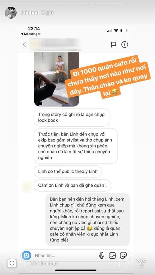 Khanh Linh 'The Face' noi gi khi bi to chup lookbook khong xin phep hinh anh 2