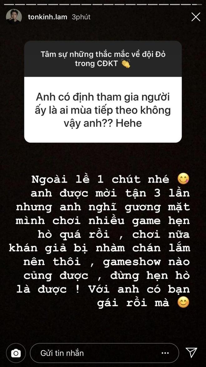 Hot boy Ton Kinh Lam tiet lo 3 lan tu choi tham gia 'Nguoi ay la ai' hinh anh 1