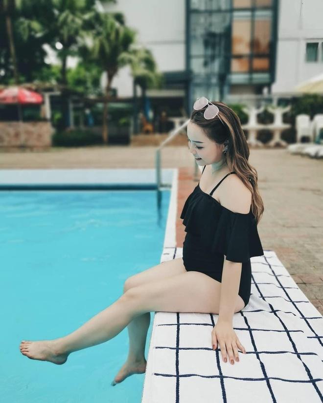Khi mang bau, blogger Trinh Pham cham khoe anh bikini hon hoi con gai hinh anh 6