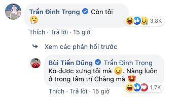 Bui Tien Dung dang anh tinh cam voi vo, Dinh Trong hoi 'Con toi?' hinh anh 2