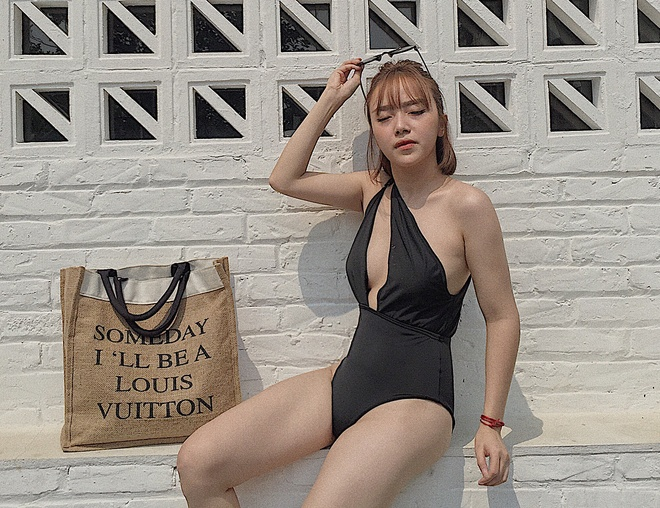 Mau anh Ha thanh dien bikini do dang nong bong hinh anh 5
