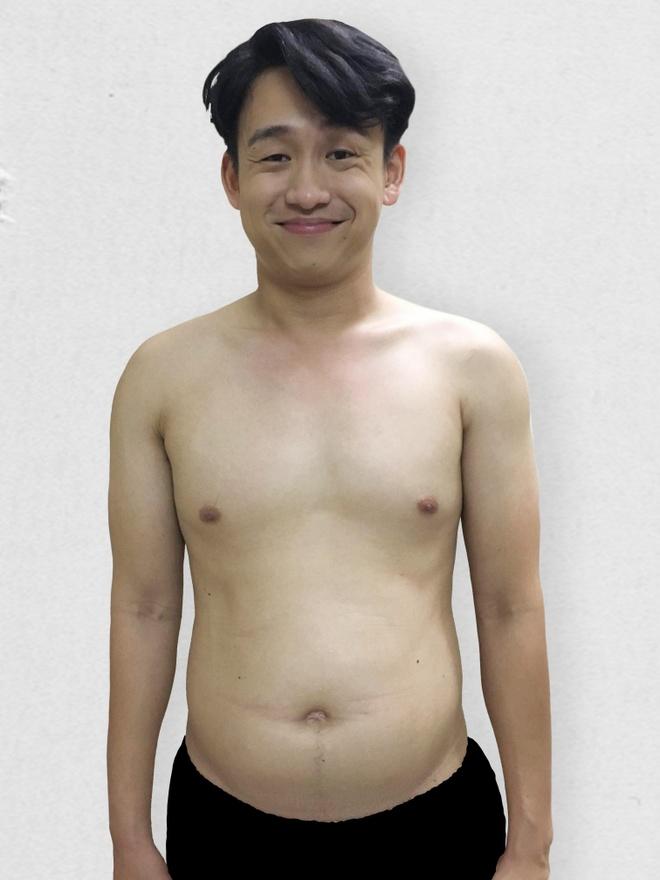 MC Quang Bao khoe anh giam 20 kg sau khi tang can mat kiem soat hinh anh 1