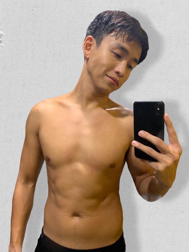 MC Quang Bao khoe anh giam 20 kg sau khi tang can mat kiem soat hinh anh 2
