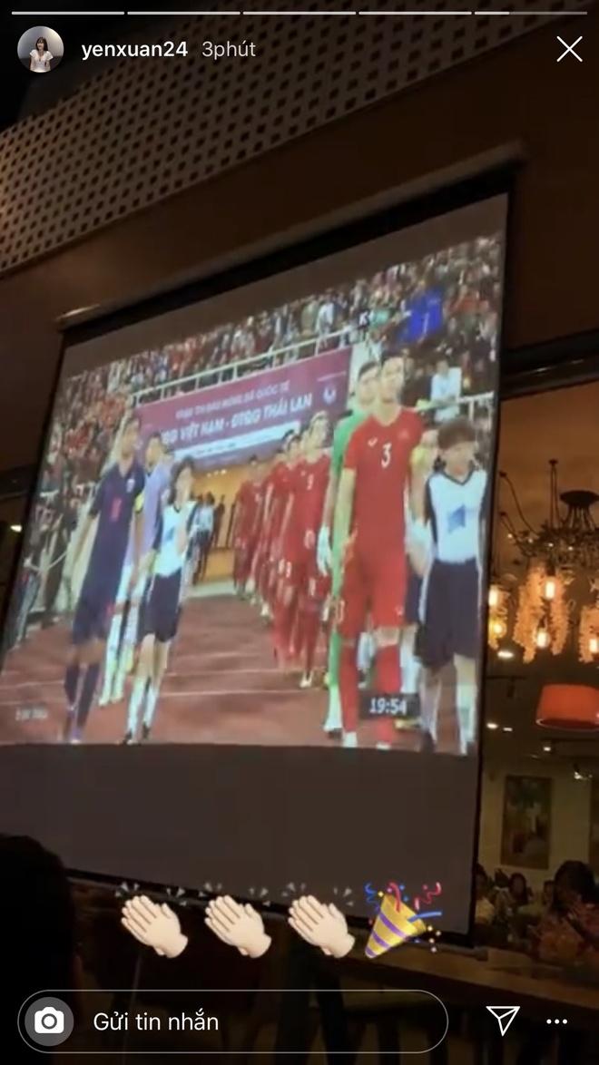Ban gai Lam Tay hanh phuc khi ban trai can pha thanh cong penalty hinh anh 2