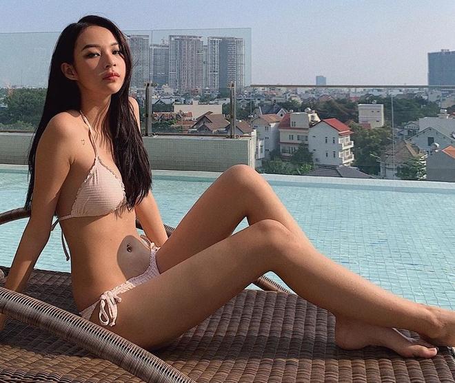 Kaity Nguyen va nhung hot girl gay chu y moi lan khoe anh bikini hinh anh 5