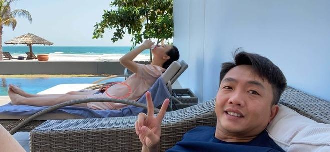 Dam Thu Trang mang bau anh 3