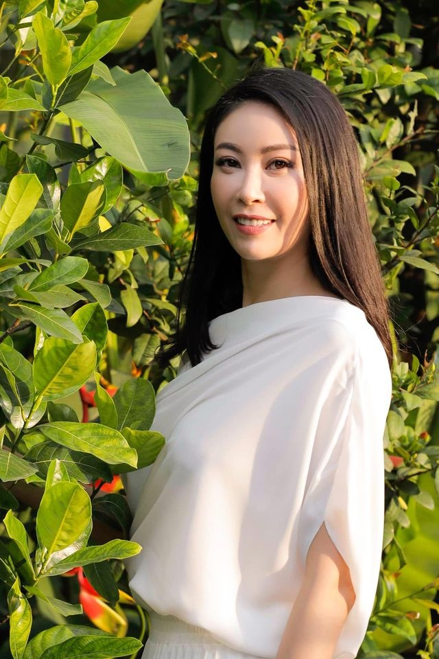 Hoa hau Ha Kieu Anh anh 1