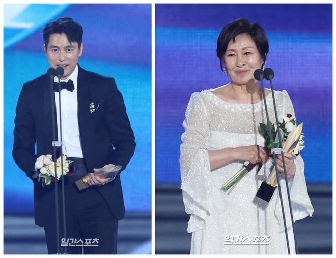 Lee Byung Hun, Han Ji Min, Jung Woo Sung duoc vinh danh tai Baeksang hinh anh 2