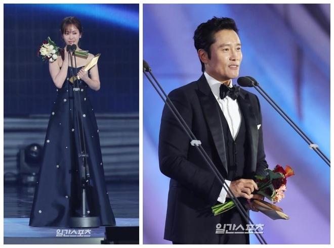 Lee Byung Hun, Han Ji Min, Jung Woo Sung duoc vinh danh tai Baeksang hinh anh 3
