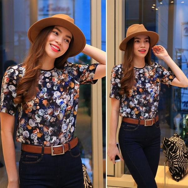 Nhung nguoi dep Viet chuong thoi trang Zara hinh anh 7