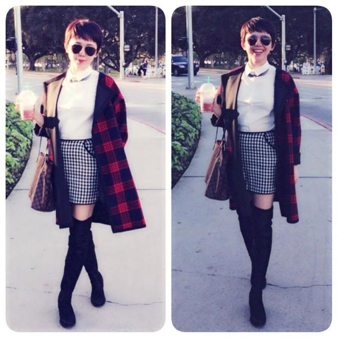 Nhung nguoi dep Viet chuong thoi trang Zara hinh anh 2