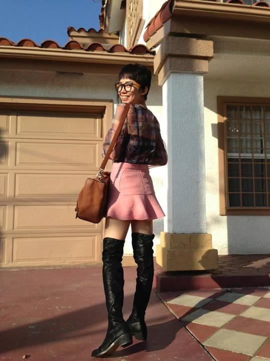 Nhung nguoi dep Viet chuong thoi trang Zara hinh anh 3