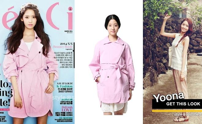 Không chỉ dùng hàng hiệu, Yoona vẫn thườmg chọn hàng thời trang giá rẻ như O'2nd, Forever 21, Zara …