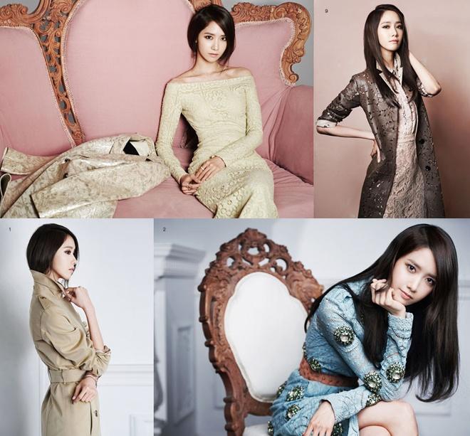 Với phong cách nữ tính và duyên dáng, không lạ gì khi Yoona lại rất ưu ái các thiết kế của Burberry.
