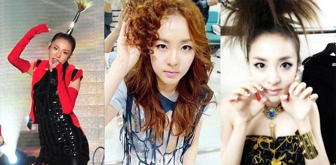 """Nhung kieu toc co mot khong hai cua sao Han hinh anh 16 Dara có thể ví với """"cô nàng ngổ ngáo"""", vì nhiều kiểu tóc thật cá tính đến khác người của nữ ca sĩ này."""