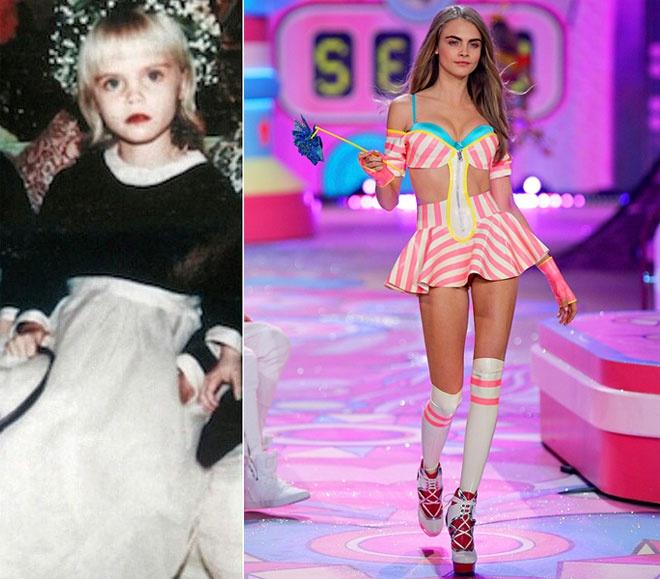 Anh tho au cua dan sieu mau quoc te hinh anh 6 Siêu mẫu đắt giá của hãng nội y Victoria's Secrect Cara Delevingne chứng tỏ vẻ đẹp ngày càng vượt trội theo năm tháng.