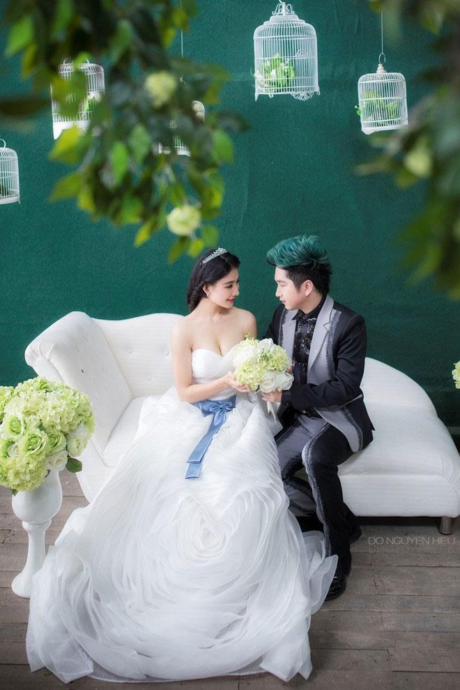 So dang cap vay cuoi cua 5 nang dau xinh dep Vbiz hinh anh 41 Vẻ đẹp ngọt ngào, gợi cảm của cô dâu DJ Oxy khiến fan nôn nóng chờ đợi lễ thành hôn của cặp đôi mới nhất showbiz Việt này.