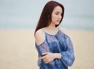 Loat vay ao nghi giau bung bau cua Trang Nhung hinh anh