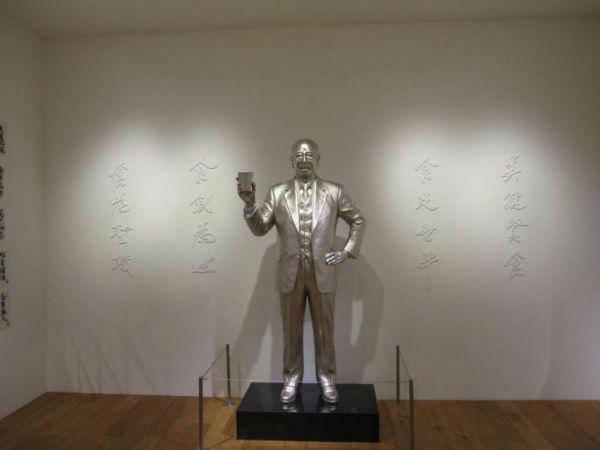 Bao tang mi an lien chi tim thay o Nhat Ban hinh anh 2 Bức tượng ông Momofuku Ando được dựng tại bảo tàng