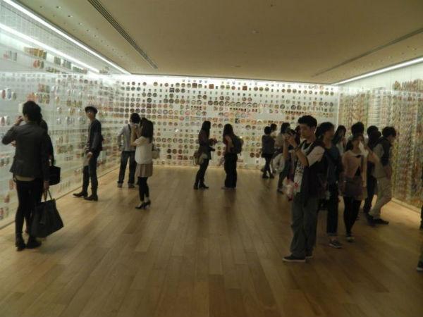 Bao tang mi an lien chi tim thay o Nhat Ban hinh anh 3 Bảo tàng dành khu vực lớn để trưng bày tất cả nhãn hiệu cũng như loại mì ăn liền từng có ở Nhật Bản