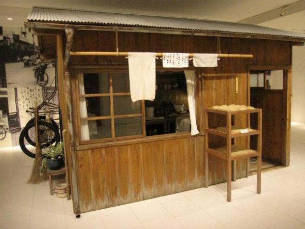 Bao tang mi an lien chi tim thay o Nhat Ban hinh anh 4 Một mô hình quán bán mì xưa của Nhật Bản