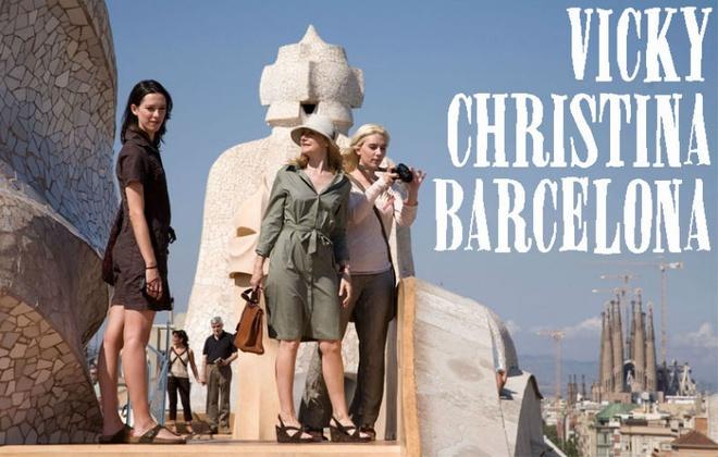 4. Vicky Christina Barcelona: Nhân vật chính của phim là hai cô bạn thân người Mỹ, Vicky và Christina cùng nhau đi nghỉ hè ở thành phố Barcelona và đều bị quyến rũ bởi chàng họa sĩ điển trai nhưng đã có vợ, Jose Antonio.