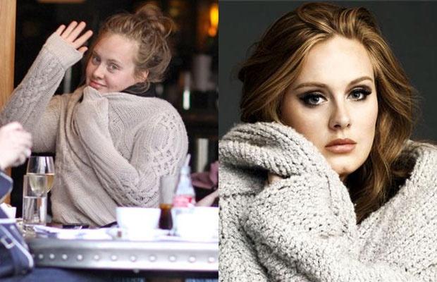 Sao lo mat gia nua vi thieu son phan hinh anh 17 Adele