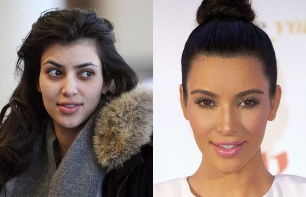 Sao lo mat gia nua vi thieu son phan hinh anh 1 Kim Kardashian