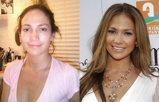 Sao lo mat gia nua vi thieu son phan hinh anh 4 Jennifer Lopez.