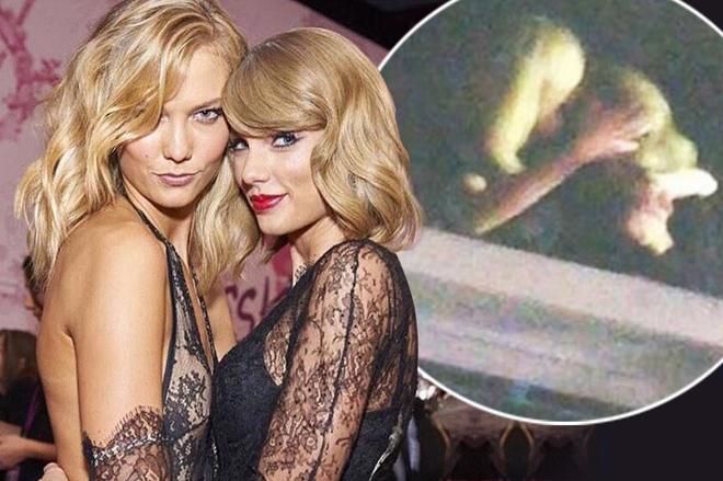 Style tuong dong cua cap doi Taylor Swift - Karlie Kloss hinh anh 14 Trong khi fan đang náo nức trước nghi vấn tình yêu đồng tính của Taylor Swift, nhất là với tin đồn nụ hôn của cả hai trong buổi concert của The 1975, thì nữ ca sĩ lại nhanh chóng phủ nhận. Ngoài ra còn có nhiều nguồn tin cho biết đây là kế hoạch PR sản phẩm âm nhạc mới rất khéo léo của cô nàng.