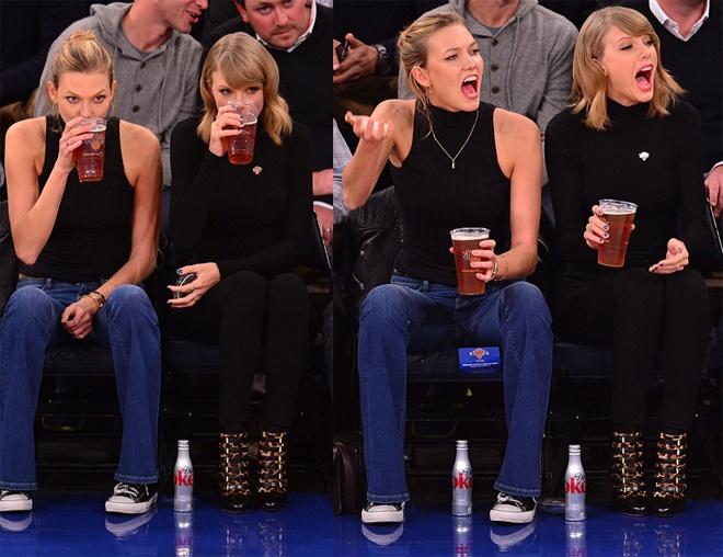 Style tuong dong cua cap doi Taylor Swift - Karlie Kloss hinh anh 15 Dù vậy, phong cách cặp đôi của Taylor Swift và Karlie Kloss, một trong những đôi bạn thân như hình với bóng của Hollywood, cũng mang lại nhiều thú vị cho người hâm mộ. Và mỗi xuất hiện trên phố hay ở thảm đỏ sự kiện lại là dịp thú vị để fan tha hồ soi gu thời trang đồng điệu đến bất ngờ của 2 mỹ nhân quyến rũ của showbiz và làng mốt quốc tế.