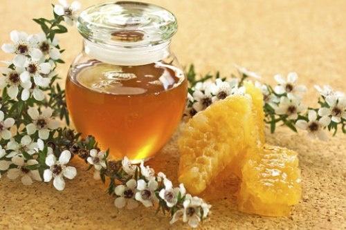 2. Mật ong manuka: Liệu pháp ngọt ngào này sẽ giúp bạn chữa lành những tế bào da bị hư tổn và giảm nhiễm trùng tại chỗ hoặc sâu trong các lớp da, có thể dẫn tới việc để lại sẹo.