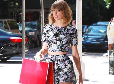 BST quan shorts bien chan ngan thanh dai cua Taylor Swift hinh anh