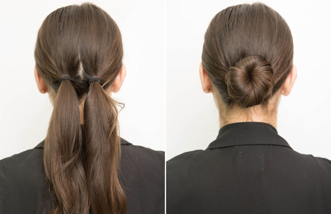 10 meo lam dep doc dao danh cho co nang ban ron hinh anh 4 4. Búi tóc củ tỏi trong vài bước đơn giản. Chia đều tóc ra 2 phần, dùng dây thun buộc sát vào chân tóc, sau đó xoắn 2 phần tóc này vào nhau thành lọn, rồi quấn tròn tạo búi. Cuối cùng dùng kẹp tăm cố định phần búi tóc vào chân tóc. Thế là bạn đã có ngay 1 kiểu tóc búi gọn gàng và đẹp mắt.
