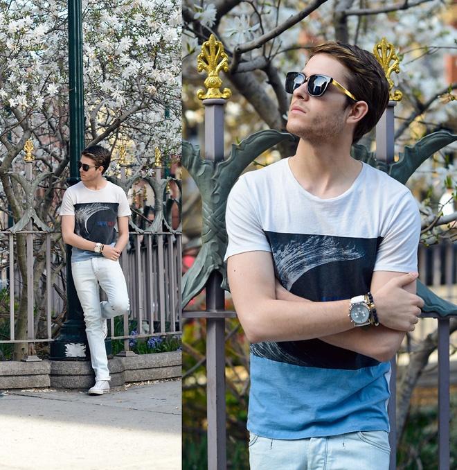 Phong cach he lich lam cua fashionista dien trai New York hinh anh 17