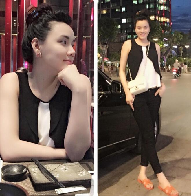 Tuyet chieu giau vong eo sau sinh cua Trang Nhung hinh anh 6