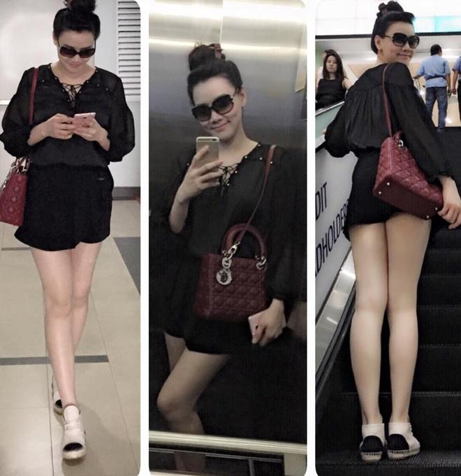 Tuyet chieu giau vong eo sau sinh cua Trang Nhung hinh anh 8