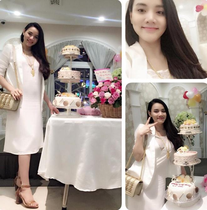 Tuyet chieu giau vong eo sau sinh cua Trang Nhung hinh anh 4