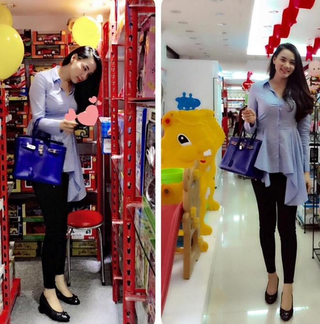 Tuyet chieu giau vong eo sau sinh cua Trang Nhung hinh anh 9