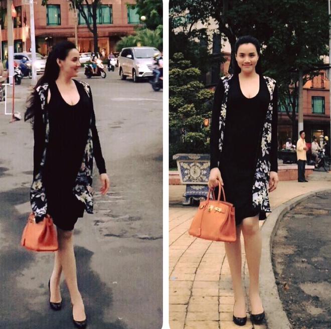 Tuyet chieu giau vong eo sau sinh cua Trang Nhung hinh anh 5