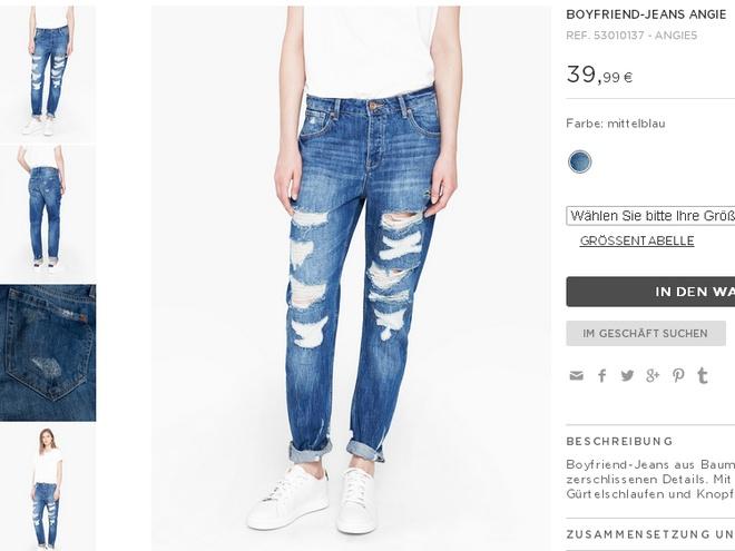 3 mau quan jeans tien trieu cua sao Viet duoc san lung hinh anh 2